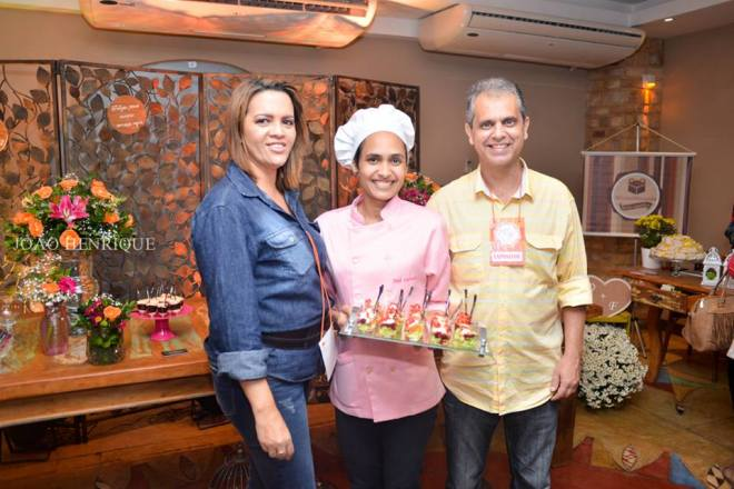 Marcia Leal, Joeli Carvalho e Wagner Costa